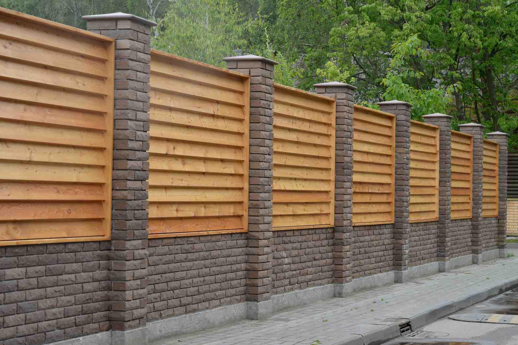 Quel est le prix d'un mur de clôture ?