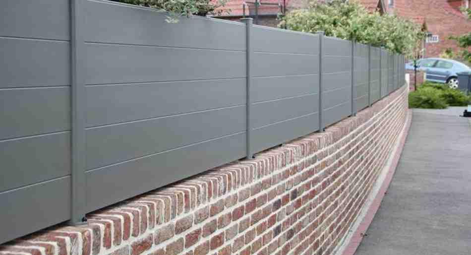 Quelle hauteur pour un mur de clôture ?
